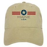 Maine-Star Stripes: Cap