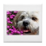 Flower Bobby Tile Coaster
