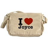 I Love Joyce Messenger Bag