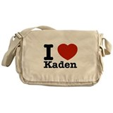 I Love Kaden Messenger Bag