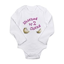 Cute Glbt families Long Sleeve Infant Bodysuit