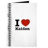 I Love Kaiden Journal