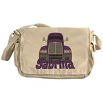 Trucker Sabrina Messenger Bag