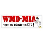 WMD-MIA -but we found the oil!