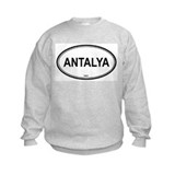 Antalya, Turkey euro Sweatshirt