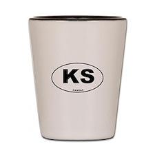 Kansas State Shot Glass