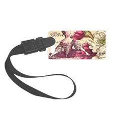 VINTAGE LADY Luggage Tag