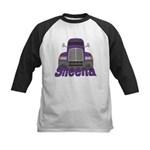 Trucker Sheena Kids Baseball Jersey