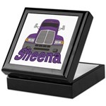 Trucker Sheena Keepsake Box