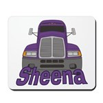 Trucker Sheena Mousepad