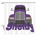 Trucker Shelby Shower Curtain