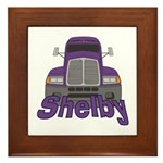 Trucker Shelby Framed Tile