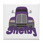 Trucker Shelby Tile Coaster