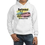 Retro Trailer Retired  Hoodie