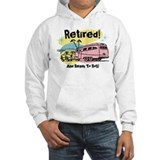 Retro Trailer Retired Jumper Hoody