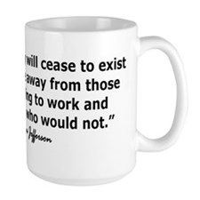 THOMAS JEFFERSON QUOTE Mug