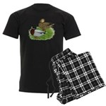Grey Call Ducks Men's Dark Pajamas
