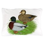 Grey Call Ducks Pillow Case