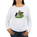 Grey Call Ducks Women's Long Sleeve T-Shirt