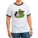 Grey Call Ducks Ringer T