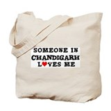 Someone in Chandigarh Tote Bag