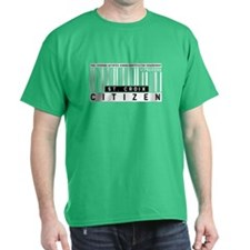 St. Croix Citizen Barcode, T-Shirt