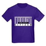 New Egypt Citizen Barcode, T