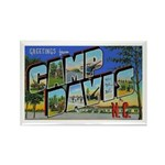Camp Davis North Carolina Rectangle Magnet