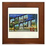 Camp Davis North Carolina Framed Tile