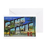 Camp Davis North Carolina Greeting Cards (Package