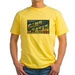 Camp Davis North Carolina Yellow T-Shirt
