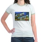 Camp Davis North Carolina Jr. Ringer T-Shirt