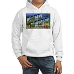 Camp Davis North Carolina (Front) Hooded Sweatshir