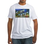 Camp Davis North Carolina Fitted T-Shirt