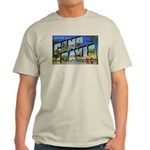 Camp Davis North Carolina (Front) Ash Grey T-Shirt