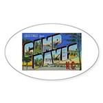 Camp Davis North Carolina Oval Sticker