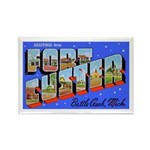 Fort Custer Michigan Rectangle Magnet (10 pack)