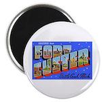 Fort Custer Michigan Magnet
