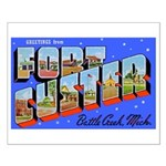 Fort Custer Michigan Small Poster