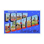 Fort Custer Michigan Mini Poster Print