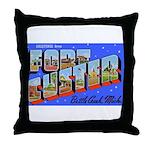 Fort Custer Michigan Throw Pillow