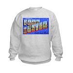 Fort Custer Michigan (Front) Kids Sweatshirt