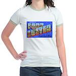 Fort Custer Michigan Jr. Ringer T-Shirt