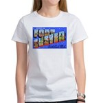 Fort Custer Michigan (Front) Women's T-Shirt