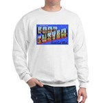 Fort Custer Michigan (Front) Sweatshirt
