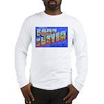 Fort Custer Michigan (Front) Long Sleeve T-Shirt