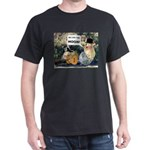  Black Spongmonkeys We Like Tha Moon T-Shirt