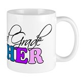 Second Grade Teacher Small Mug