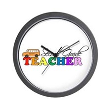 Second Grade Teacher Wall Clock