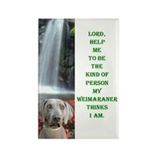 Lord Help Me -RecMag -Weimaraner Magnets